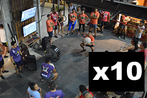 10- Pack CrossFit Drop-in Class in Puerto Vallarta