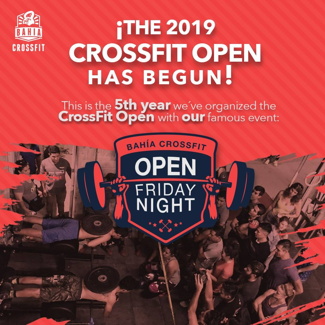 crossfit open friday nights