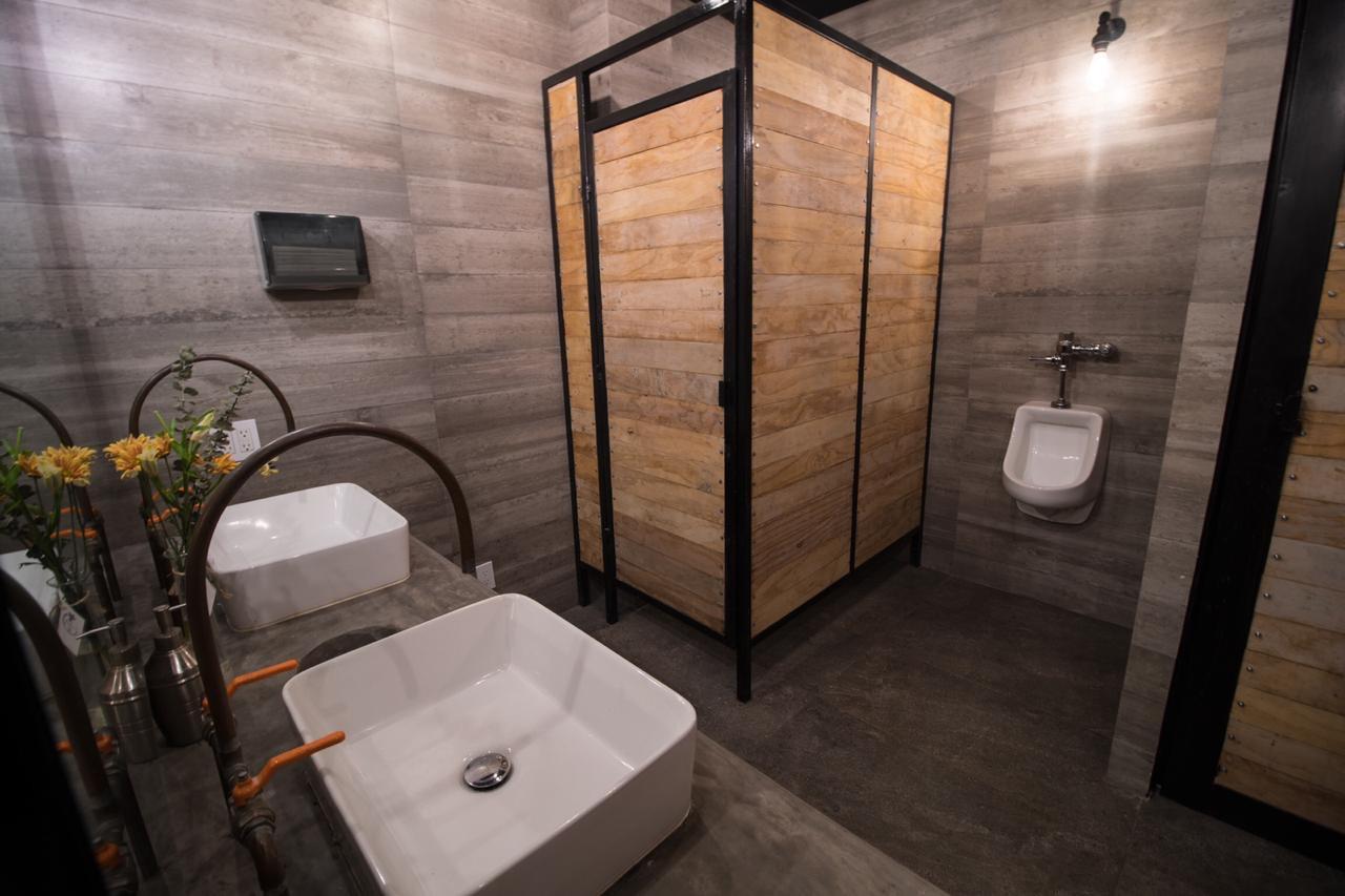 mens restroom bahia crossfit puerto vallarta
