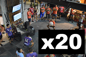 20 PACK CROSSFIT DROP-IN CLASS PUERTO VALLARTA