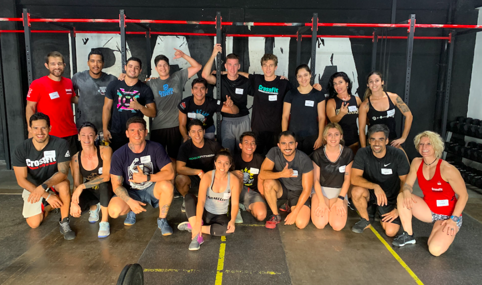 CROSSFIT level 1 puerto vallarta course